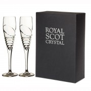 Box of 2 Flute Champagne Glasses (12336)