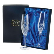 Set of 2 Flute Champagne Glasses (13775)
