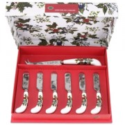 Cheese Knife and 6 Butter Spreaders (14086)