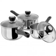 3 Piece Saucepan Set (15432)