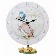 Jemima Puddleduck Duck Clock and Ducks (18162)
