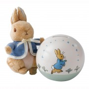 Peter Rabbit Money Bank and Soft Toy (18179)