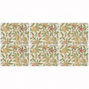 Cream Fruit Placemats - Set of 6 (21303)