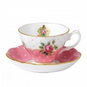 Vintage Teacup and Saucer (21357)
