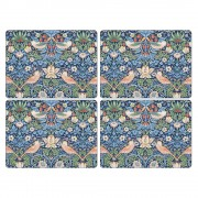 Strawberry Thief Blue Tablemats - Set of 4 (21756)