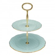 Vintage 2 Tier Cake Stand (22184)