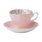 Vintage Teacup and Saucer (22188)