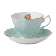 Vintage Teacup and Saucer (22189)