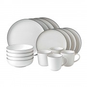 White Dinner Set - 16 piece (25544)