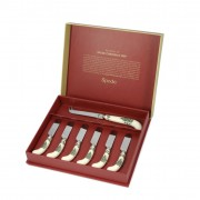 Cheese Knife and 6 Spreaders (26707)