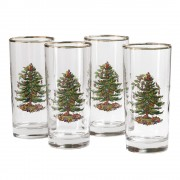Set of 4 Highball Tumbler Glasses (26709)