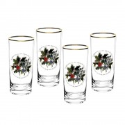 Set of 4 Highball Tumbler Glasses (26727)