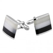 Square Cats Eye CuffLinks (27899)