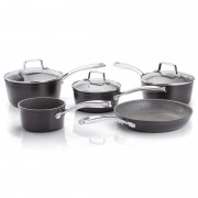5 Piece Saucepan Set Glass Lids (28629)
