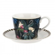 Tahiti Lemur Teacup and Saucer (29000)