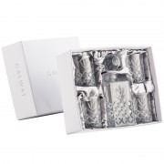 Square Decanter and 4 Tumblers Set (29444)