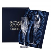 Boxed Pair of Flute Champagne Glasses (29474)
