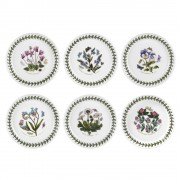 Bread Plate 15cm Set of 6 Assorted (6381)