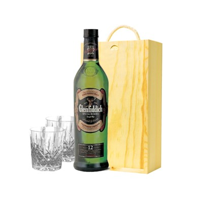 Glenfiddich Whisky Gift Set (11212)