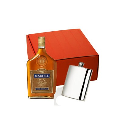 Brandy and Hip Flask Gift Set (11215)