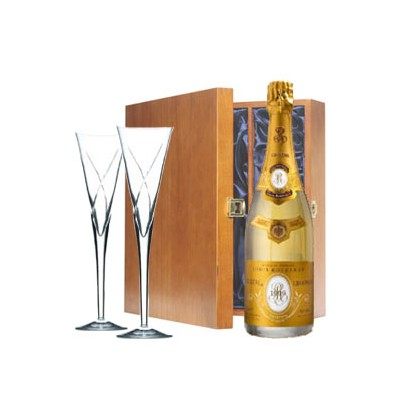 Havens Boxed Bottle Louis Roederer Cristal Champagne And