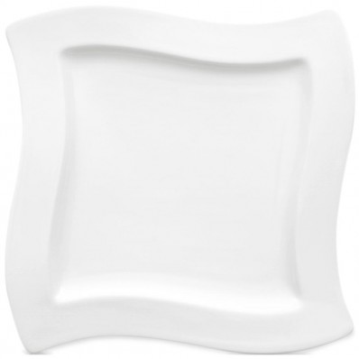 Square Dinner Plate (27cm) (1147)  sc 1 th 224 & Villeroy and Boch New Wave Square Dinner Plate - Havens