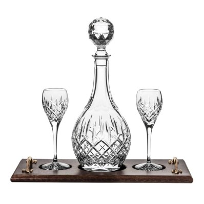 Port Decanter on Tray Set (11821)