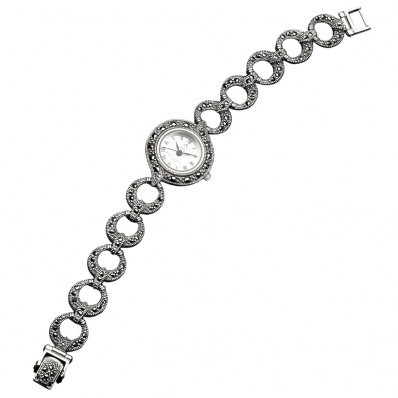 Marcasite Ladies Watch (12842)