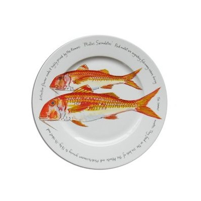 30cm Presentation Main Plate Red Mullet (13073)