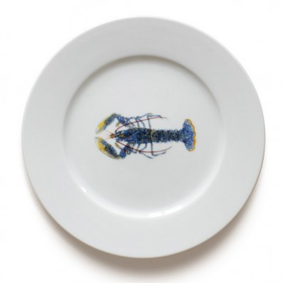 19cm Side Plate Lobster (13087)