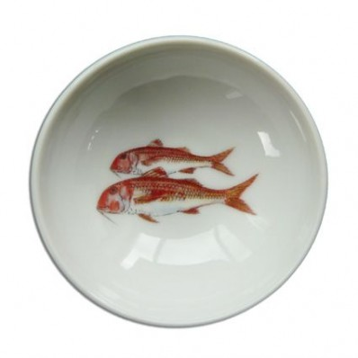 11cm Bowl Red Mullet (13140)