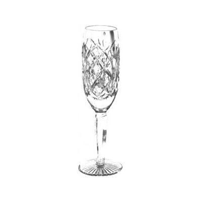 Cathedral Pair of Flute Champagne Glasses (14308)