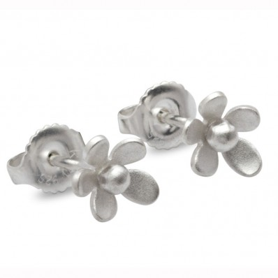 Unique Small Flower Stud Earrings (14345)
