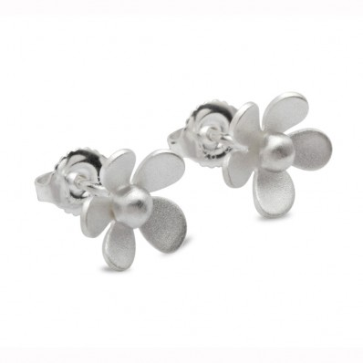 Large Flower Stud Earrings (14346)