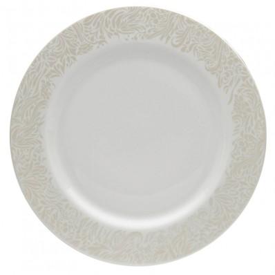 Denby Monsoon Lucille Gold Dinner Plate / Main Plate - Havens