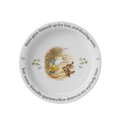 Babyu0027s Porringer Bowl (15674)  sc 1 th 224 : peter rabbit baby plate set - Pezcame.Com
