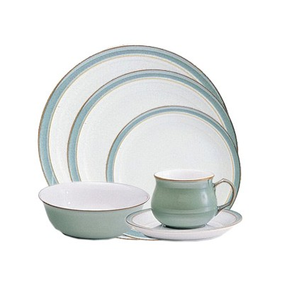 Havens Denby China Regency Green 24 Piece Dinner Service