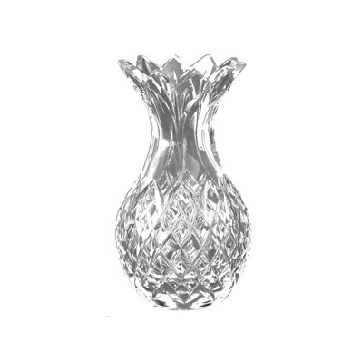 Havens Heritage Irish Hand Cut Crystal Cathedral 20cm Pineapple Vase