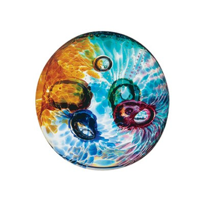 Abstract Aura Paperweight (1826)