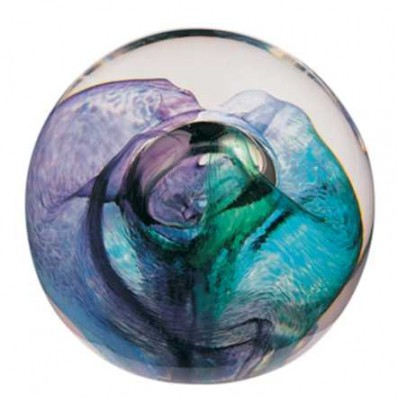 Mooncrystal Green Paperweight (1841)