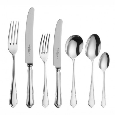 Arthur Price Dubarry - Sovereign Silver Plate Dubarry - 7 Piece Place Setting