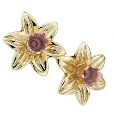 66c572028 Clogau Gold Yellow 9ct Gold Daffodil Earrings - Havens