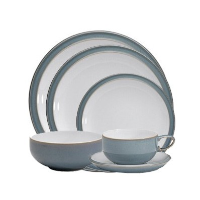 Azure 24 Piece Dinner Set (2104)  sc 1 th 224 & Havens - Denby Azure 24 Piece Dinner Set