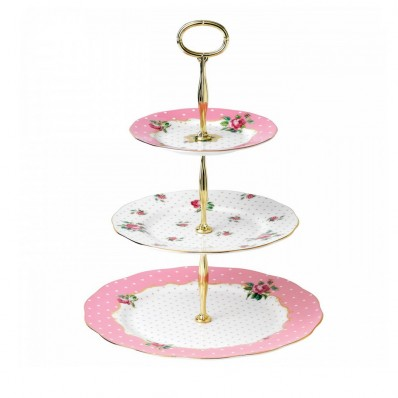 Vintage 3 Tier Cake Stand (21359)