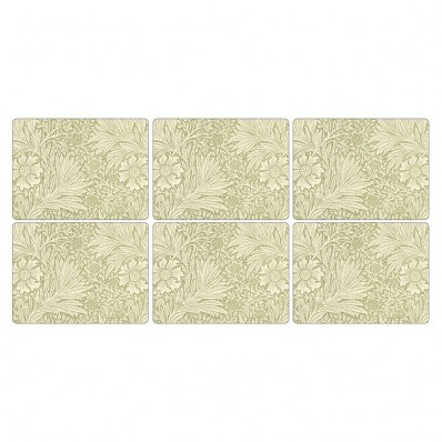 Marigold Green Placemats - Set of 6 (21773)