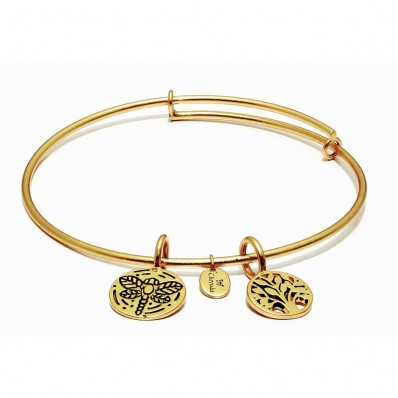 Tree Of Life Gold Plated Bracelet (23002)