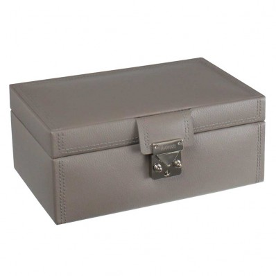Medium Mink Leather Jewellery Box (23687)