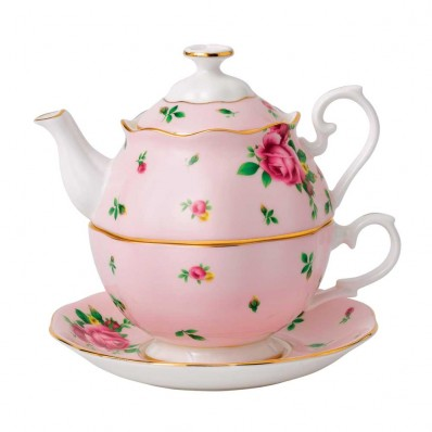 Pink Vintage Tea For One (23722)