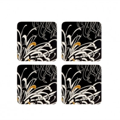 Charcoal Coasters Set of 4 (23860)