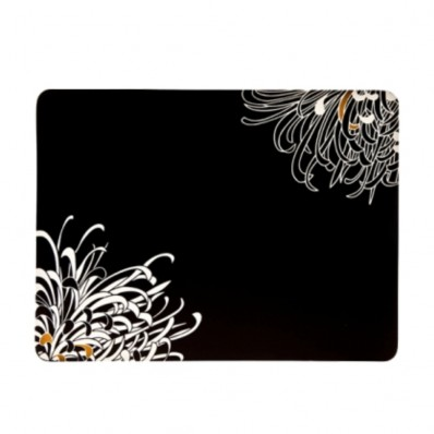 Set of 4 Charcoal Placemats (23861)